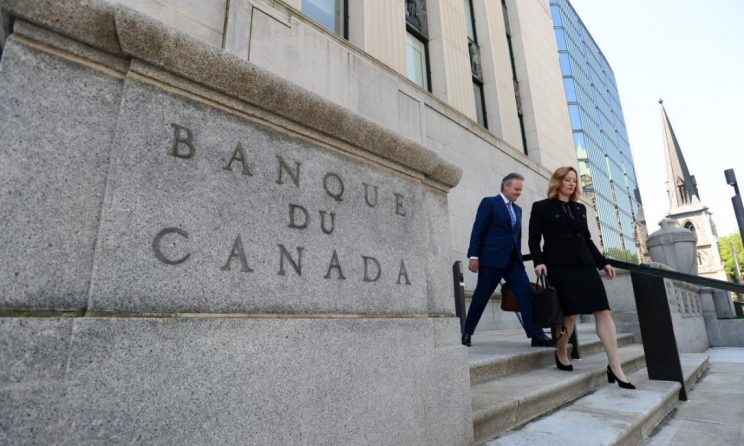 Bank of Canada to announce interest rate today